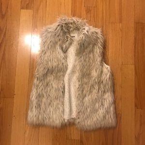 BB Dakota Faux Fur Vest